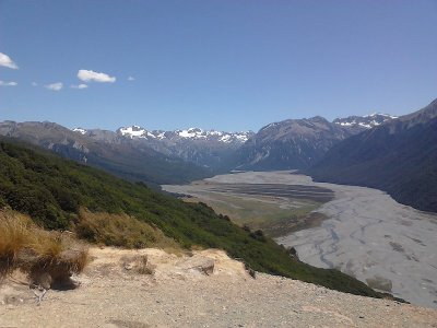 Waimakariri Valley view