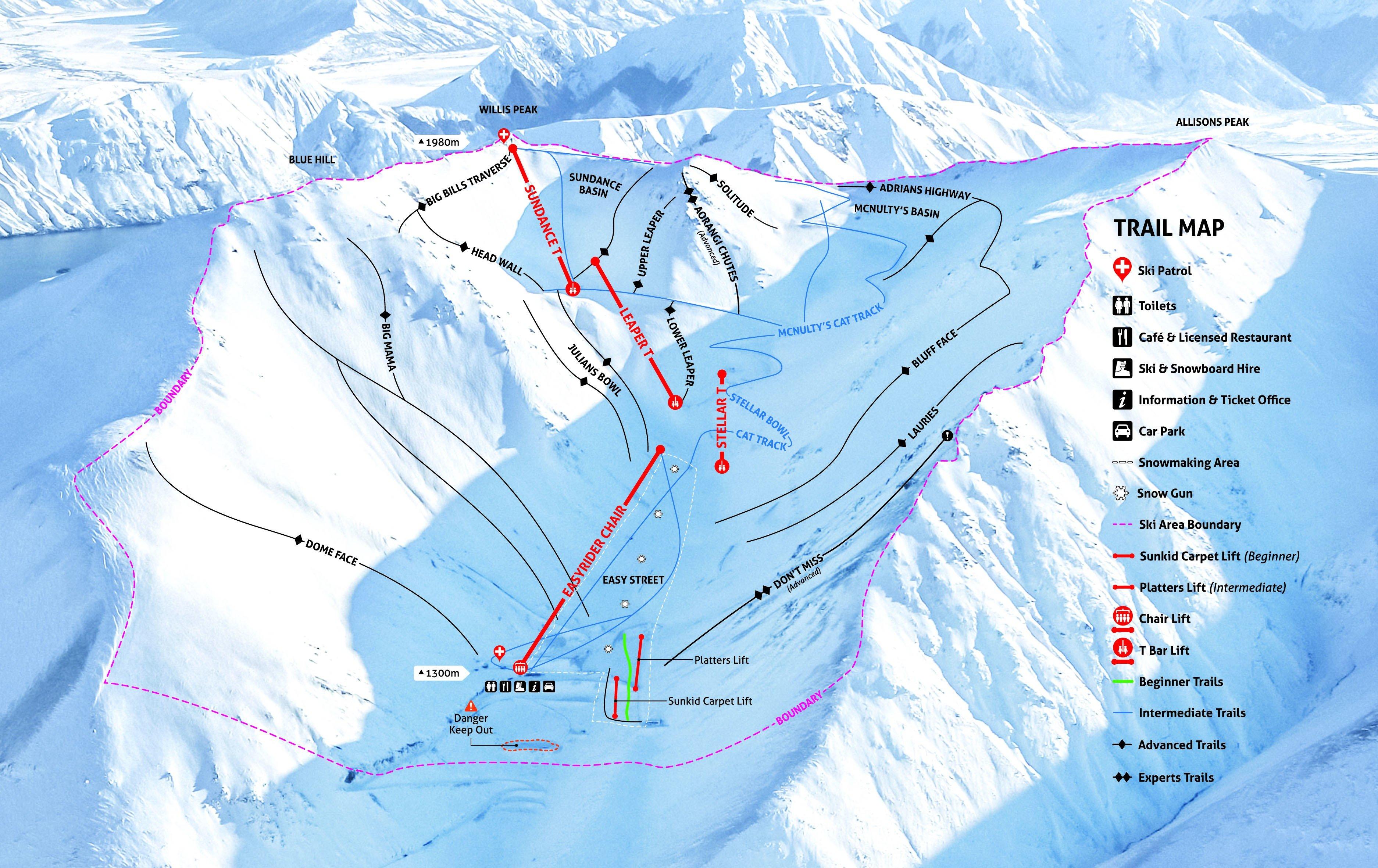 Arthur S Pass Skiing Snowboarding